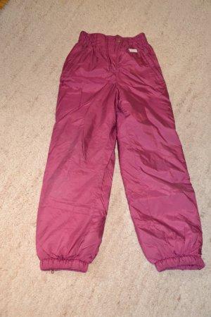 Etirel Pantalón de esquí púrpura Nailon