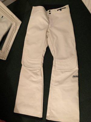 Pantalón de esquí blanco-blanco puro