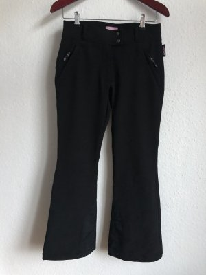 Pantalon de ski noir-rose
