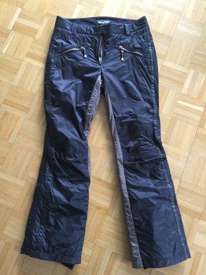 Sportalm Snow Pants black-grey brown polyamide