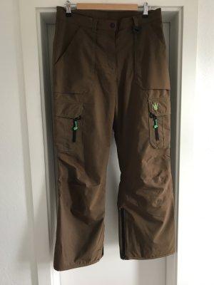 Teisumi Snow Pants brown-green