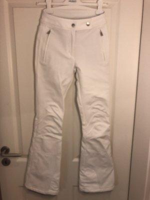 toni sailer Pantalone da neve bianco