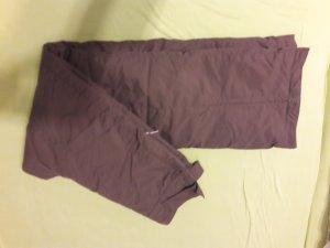 Pantalon de sport gris vert-noir nylon