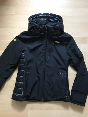 Outdoor Jacket black-gold-colored