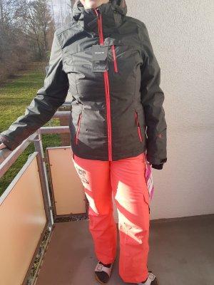 Brunotti Winter Jacket dark grey-salmon