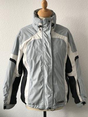 Skijacke Hot Stuff Gr. 38 eisblau/weiß/schwarz