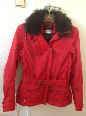 Skijacke Spyder Damen rot 38