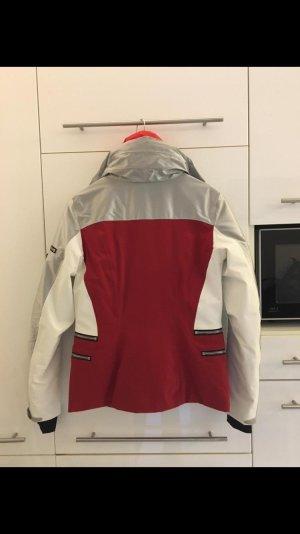 toni sailer Giacca sport argento-rosso