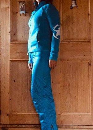 Skijacke und Hose von Jet Set, Collection STARS, Größe Small / blau