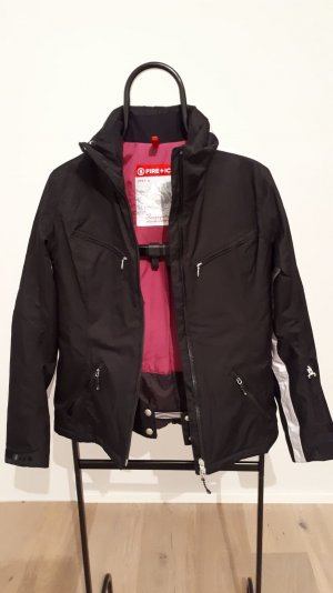 Bogner Fire + Ice Jack wit-zwart