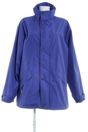 Skila Regenjacke blauviolett sportlicher Stil