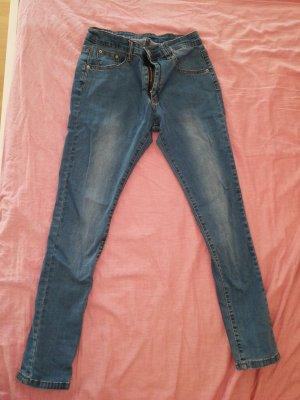 Asos Pantalone elasticizzato blu fiordaliso