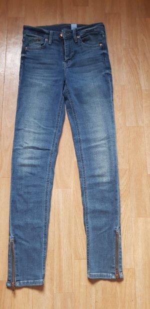 H&M Jeans a 7/8 blu