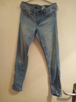 Skinny Ankle Jeans Zipper