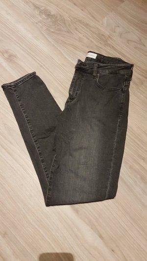 armedangels Jeans skinny nero-grigio