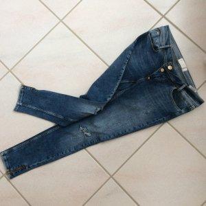 Skinny Blue Jeans 7/8 - W29