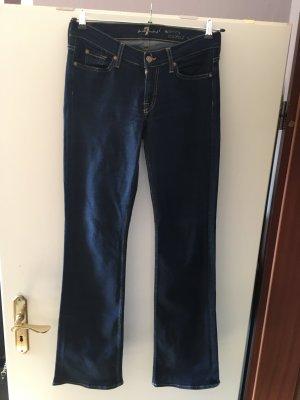 Skinny Bootcut Jeans in Größe 30