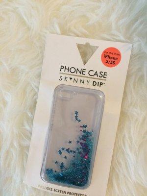 Hoesje voor mobiele telefoons korenblauw kunststof