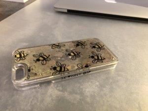 Skinny DIP Liquid Handyhülle IPhone 6/6s Gold Glitzer Sterne bienen