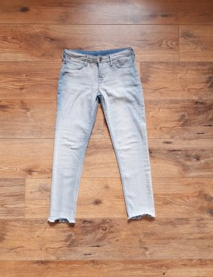 Skinny Fit Ankle Jeans blau Gr. XS/S