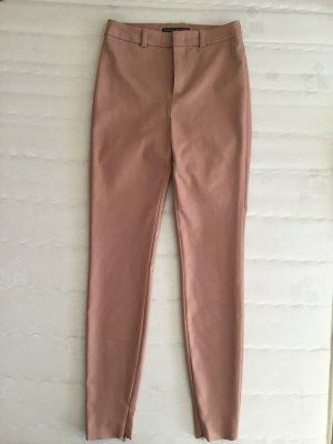 Drykorn Pantalone elasticizzato color oro rosa Tessuto misto