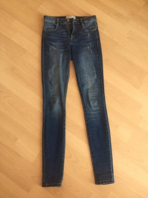 Skinny high waist jeans blau 34/36