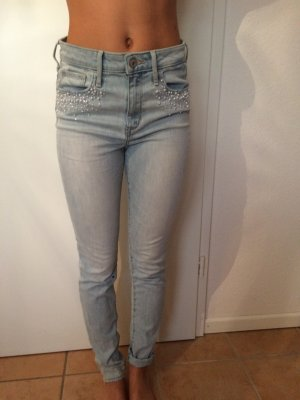 Skinny High Waisted Jeans von Abercrombie & Fitch