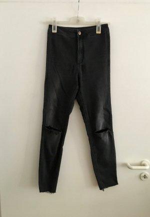 H&M Jeans de moto multicolore coton