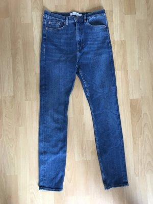 & other stories Hoge taille jeans veelkleurig Katoen