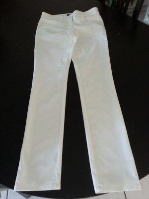 Skinny Hose in Weiß von H&M Größe 38