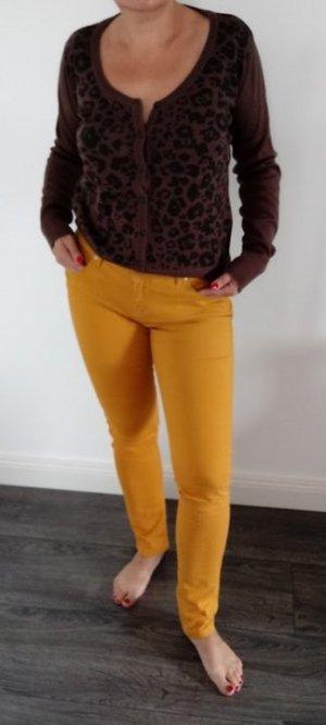 Skinny Hose Jeans in Größe 38/UK 12 Senfgelb Atmosphere Primark