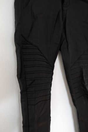 Only Drainpipe Trousers black viscose