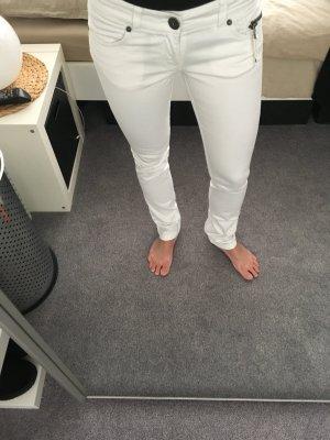 Skinny-Hose von Only Gr. 32 (W25/L30/32) weiß