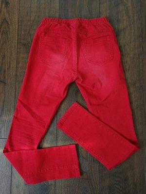 Skinny Hose von Pieces in Rot (Gr. 36)