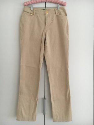 Skinny Hose von Ralph Lauren in beige
