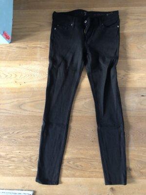 Seven7 Drainpipe Trousers black