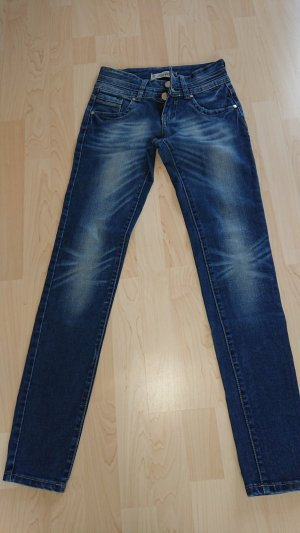 Tube Jeans blue-dark blue cotton