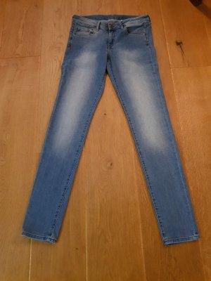 H&M Pantalone cinque tasche blu