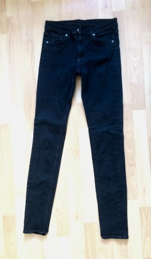 COS Skinny Jeans black cotton