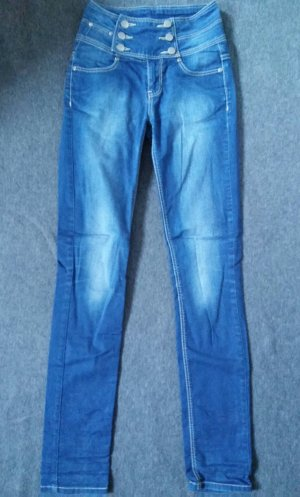Skinny Jeans 34 blau, Castro Jeans