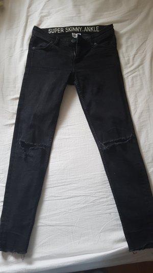 H&M Divided 7/8-broek zwart