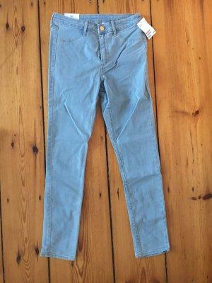 Skinny-Jeans, 7/8, High Waist