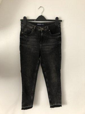 Zara Jeans skinny noir-gris anthracite