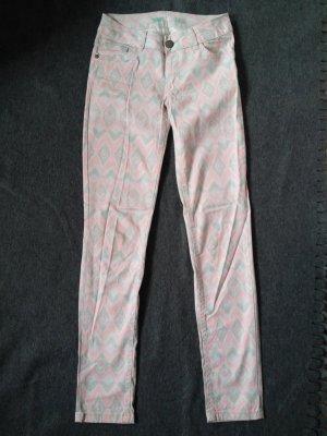 Skinny Jeans Atmosphere 32 rosa/grau