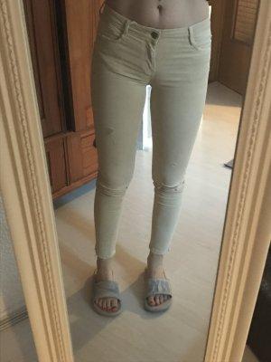 Skinny Jeans Beige von Zara