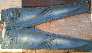 Skinny Jeans Bikerlook