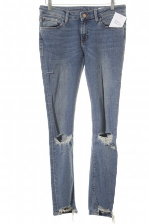 Skinny jeans blauw casual uitstraling