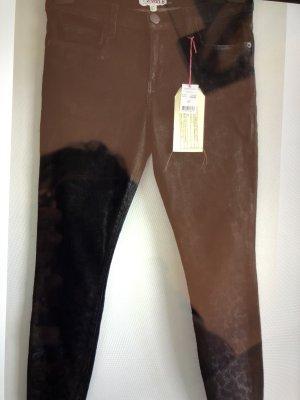 Current/elliott Jeans skinny noir tissu mixte