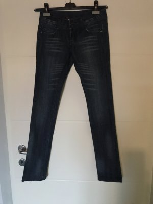 Skinny Jeans, dunkelblau