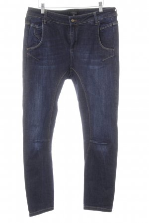 Jeans skinny blu scuro stile casual